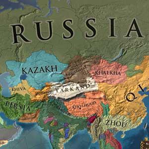 Russische kaart