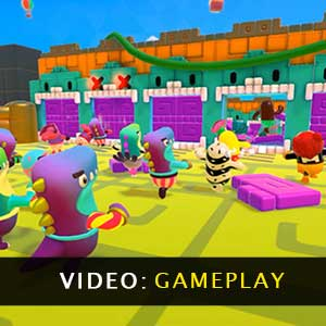 Fall Guys Ultimate Knockout Gameplay Video