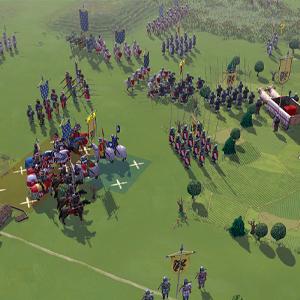 Field of Glory 2 Medieval Groene velden