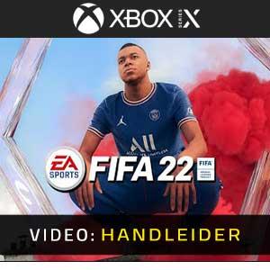 FIFA 22 Xbox Series X Video-opname