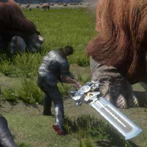 Final Fantasy 15 Xbox One Vijandige dieren in het wild