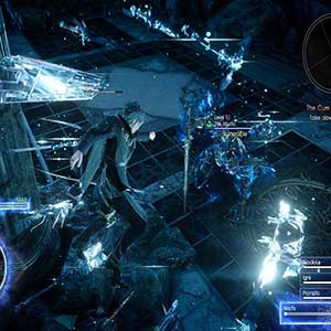 Final Fantasy 15 Xbox One Tegenover Reuzenvijand