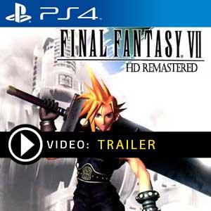 Koop Final Fantasy 7 HD Remake PS4 Code Compare Prices