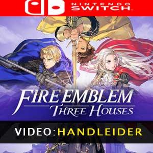 Fire Emblem Three Houses-trailer video