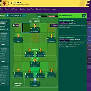 Football Manager 2020 Tactiek