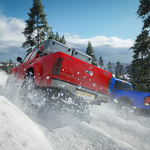 Forza Horizon 4 Sneeuw