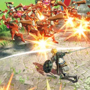 Hyrule Warriors Age of Calamity Aanval