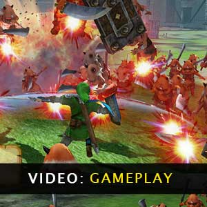 Hyrule Warriors Definitive Edition gameplay video