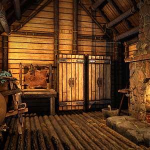 Icarus Inside In de hut
