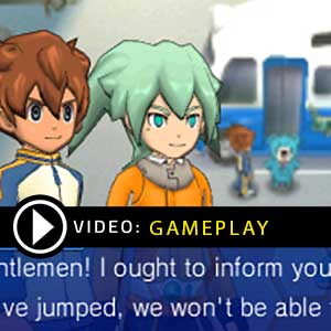 Inazuma Eleven GO Chrono Stones Wildfire Gameplay Video