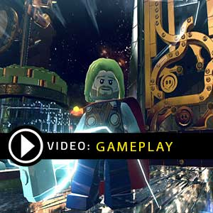 Lego Marvel Super Heroes Nintendo Wii U Gameplay Video