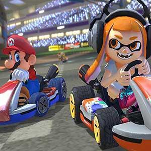 Mario Kart 8 Deluxe Inkling Girl