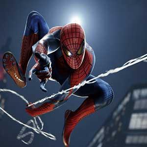 Marvel's Spider-Man Remastered PS5 Zwaaien Op Het Web