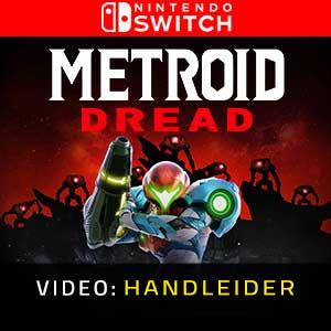Metroid Dread Nintendo Switch Video-opname