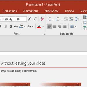 Microsoft Office 2016 Professional Plus Powerpoint