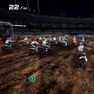 Monster Energy Supercross 4 Terrein