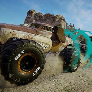 Monster Jam Steel Titans 2 De Vrachtwagen van het hondemonster