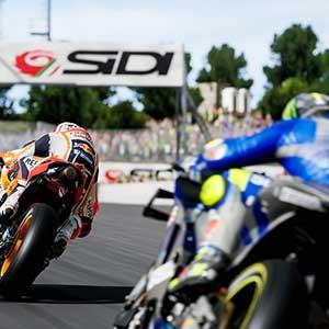 MotoGP 21 Achtervolgen
