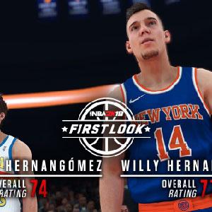 NBA 2K18 First Look - Willy Hernangomez