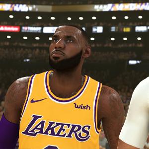 NBA 2K20 - LeBron James en Anthony Davis