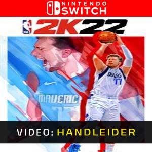 NBA 2K22 Nintendo Switch Video-opname