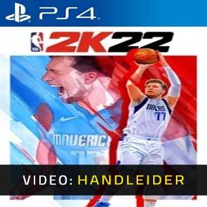 NBA 2K22 PS4 Video-opname