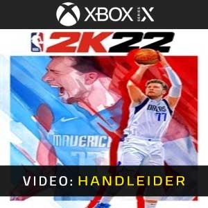 NBA 2K22 Xbxo Series X Video-opname