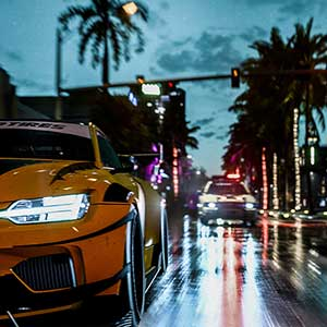Need For Speed Heat - Auto achtervolging