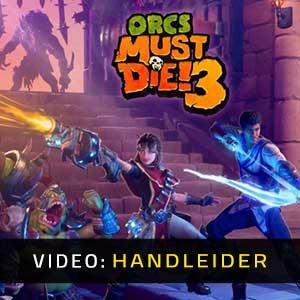 Orcs Must Die 3 Video-opname