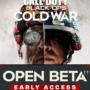 CoD Cold War – MP OPEN BETA Vroegtijdige toegang