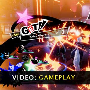 Persona 5 Strikers Gameplay Video