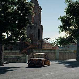 PlayerUnknowns Battlegrounds Miramar kaart
