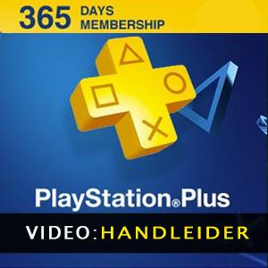 Playstation Plus 365 Dagen Kaart - Video Trailer