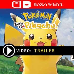 Koop Pokemon Lets Go, Pikachu! Nintendo Switch Goedkope Prijsvergelijke