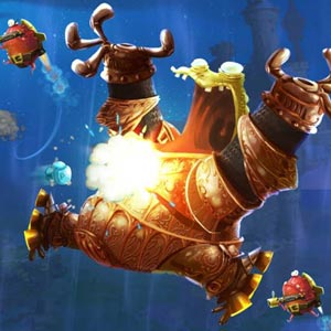 Rayman Legends - Onderwater