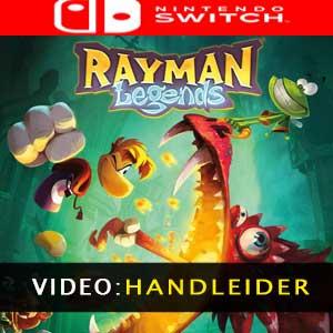 Rayman Legends Nintendo Switch Video Trailer