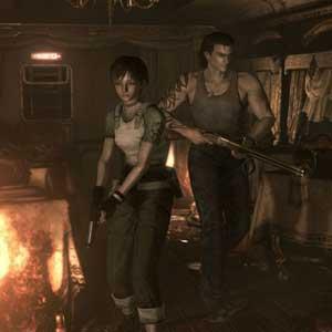 Resident Evil 0 HD-karakters