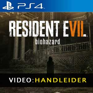 Resident Evil 7 Biohazard PS4 Video-opname