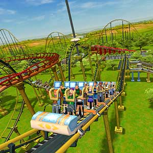 RollerCoaster Tycoon 3 Complete Edition Achtbaan