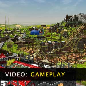 RollerCoaster Tycoon 3 Complete Edition Gameplay Video