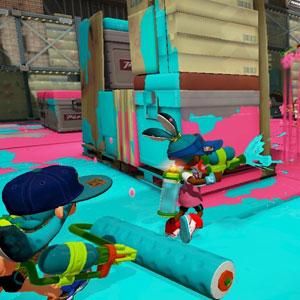 Splatoon Nintendo Wii U Battle