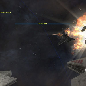 Galactic-Scale Space Combat