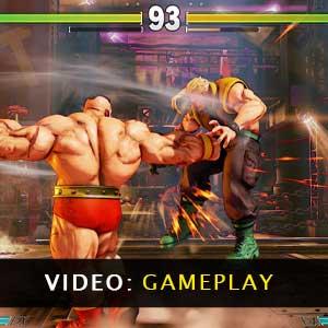 Street Fighter 5 gameplayvideo