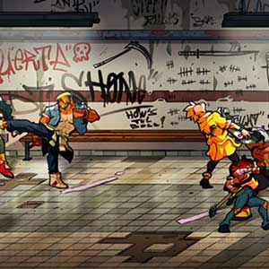 Streets of Rage 4 Personages