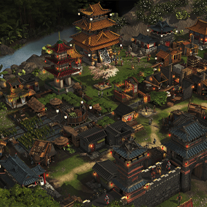 Stronghold Warlords Stad