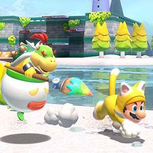 Super Mario 3D World + Bowser s Fury Nintendo Switch - Bowser en Mario