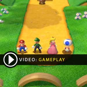 Super Mario 3D World Nintendo Wii U Gameplay Video