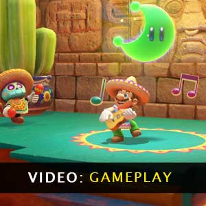Super Mario Odyssey gameplayvideo