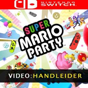 Super Mario Party Nintendo Switch videotrailer