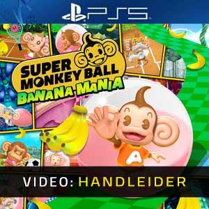 Super Monkey Ball Banana Mania PS5 Video-opname